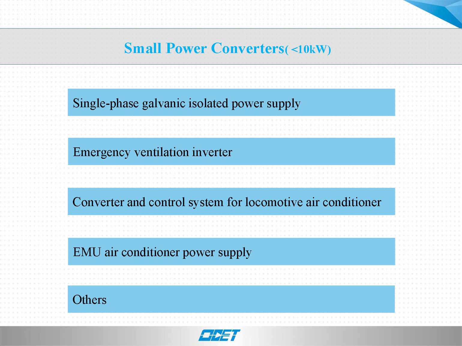 Small power converters